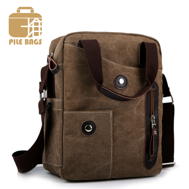Luxury Brand Bags Messenger Men Canvas Bag Casual S Handbags Designer Satchel Business