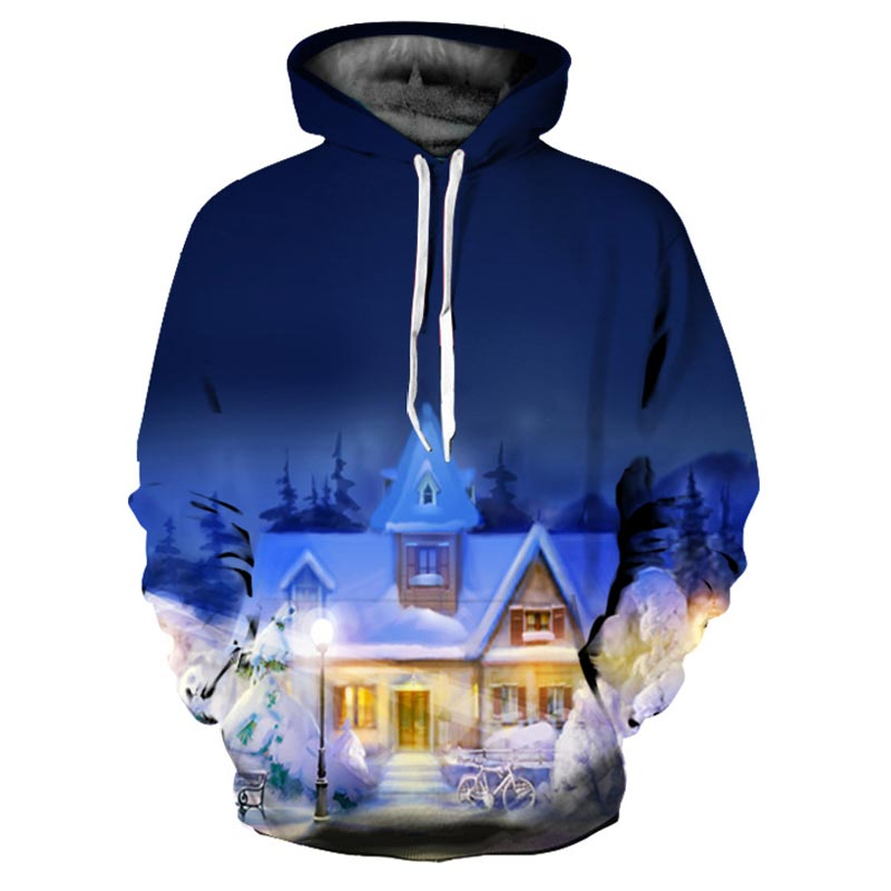 Spring Winter Hoodies Men Women Sweatshirts Print Warm Home Fashion Hooded Pullovers Unisex Hoody Outerwear Tops Plus S-3XL R450