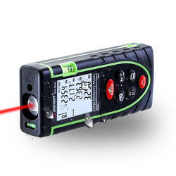40M Laser Distance Meter IP54 Digital Electronic Handheld Precision 1.5mm Rangefinder Tape Measure Portable  Area/volume tool