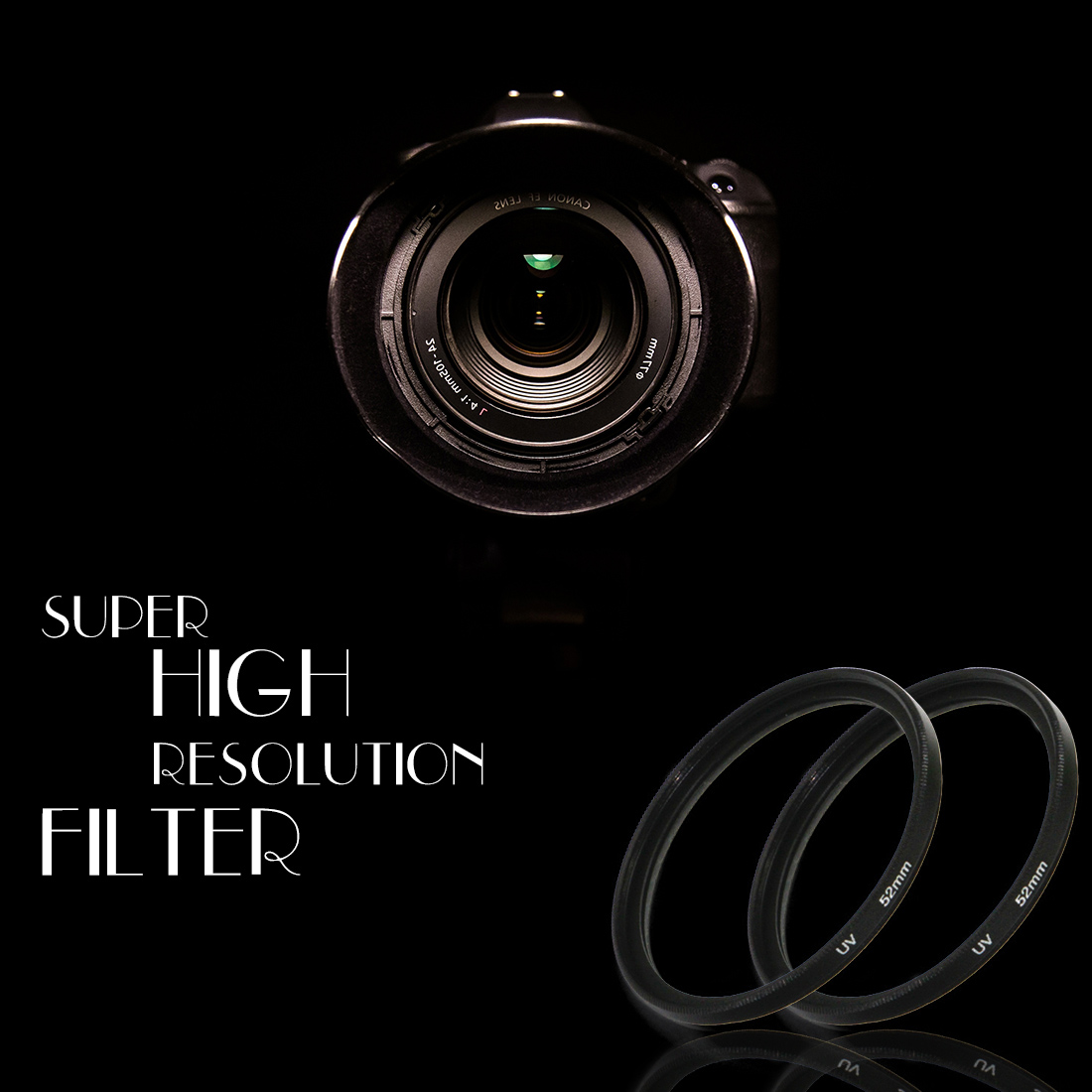 Inpelanyu 30.5/37/ 40.5/4346mm 49mm 52mm 55mm 58mm 62mm 67mm 72mm 77mm 82mm UV Filter For