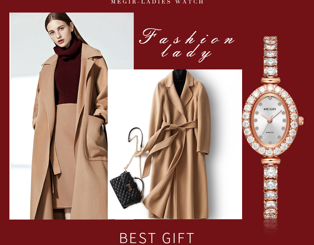 Moda megir marca reloj mujer mulher luxo