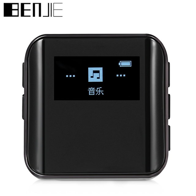 BENJIE K10 Portable Mini Digital MP3 Player 0.96 inch OLED Screen 8GB Lossless Sound MP3 Music Player FM Radio E-book