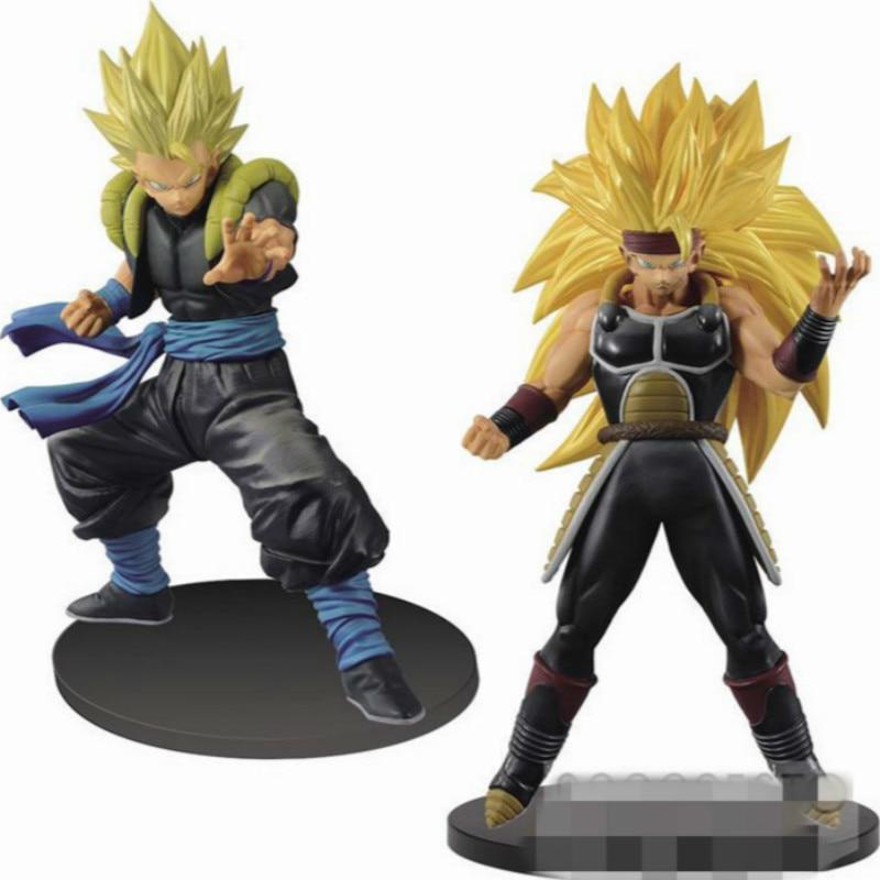 tv Anime Dragon Ball Z Action Figure Wujita Badak Super Saiyan  PVC Dragon Ball Z Action Figures Collectible Toy