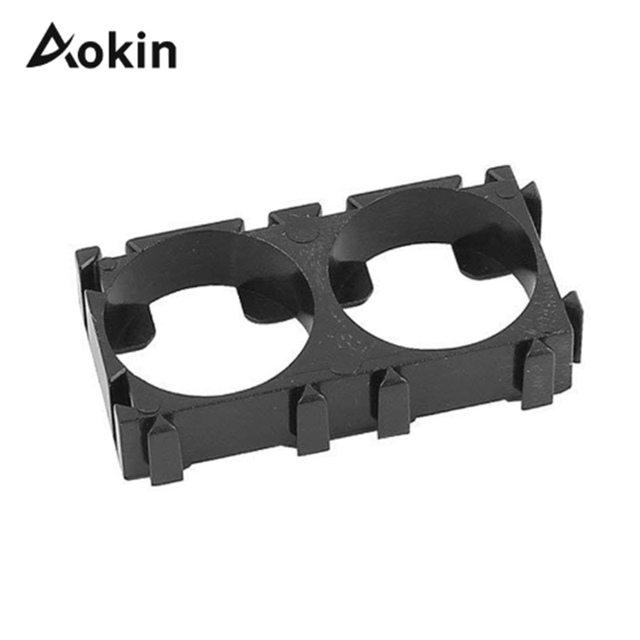 Aokin 1ps 1p 2p 3p 18650 Battery Holder Bracket DIY Cylindrical Batteries Pack Fixture Anti Vibration Case Storage Box Containe