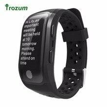 Trozum Новый G03 умный Браслет IP68 Водонепроницаемый smart Сердечного ритма Мониторы напоминание GPS чип S908 спортивный браслет