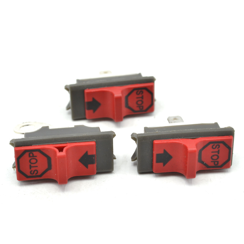 3PCS Chainsaw On Off Stop Switch for Husqvarna 51 55 61 266 268 272 281 288 272 Replaces Parts OEM 503717901 20pcs chainsaw parts fuel filter pick up body fits husqvarna chain saw 51 55 61 66 261 262 266 268 272 288 350 365 550xp