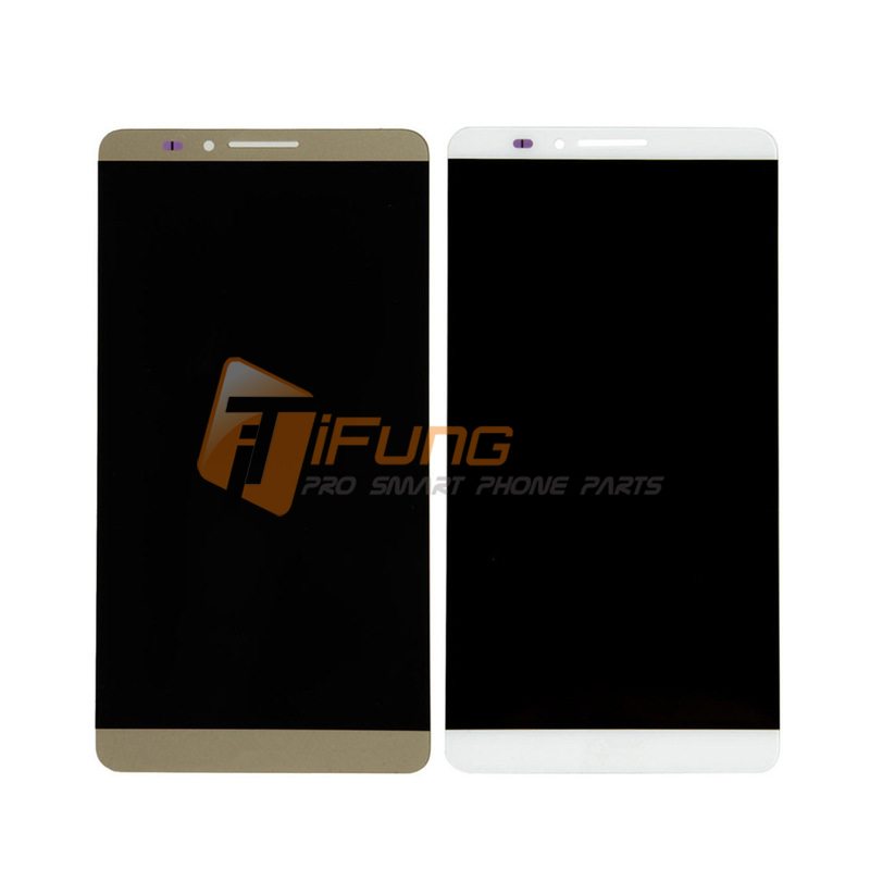 In Stock! Free DHL 5PCS New LCD Display+Digitizer Touch Screen Glass Assembly For Huawei Mate7 Mate 7 Cellphone 6.0 1920*1080