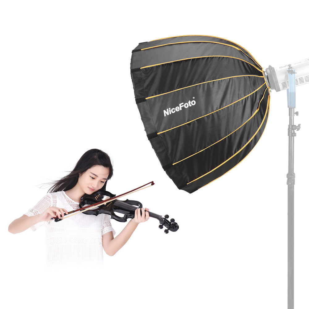 NiceFoto LED   90cm Photography Studio SoftBox Diameter 90cm /35inch for Flash Light for Portrait Wedding Product Photography-in Photo Studio Accessories from Consumer Electronics    1