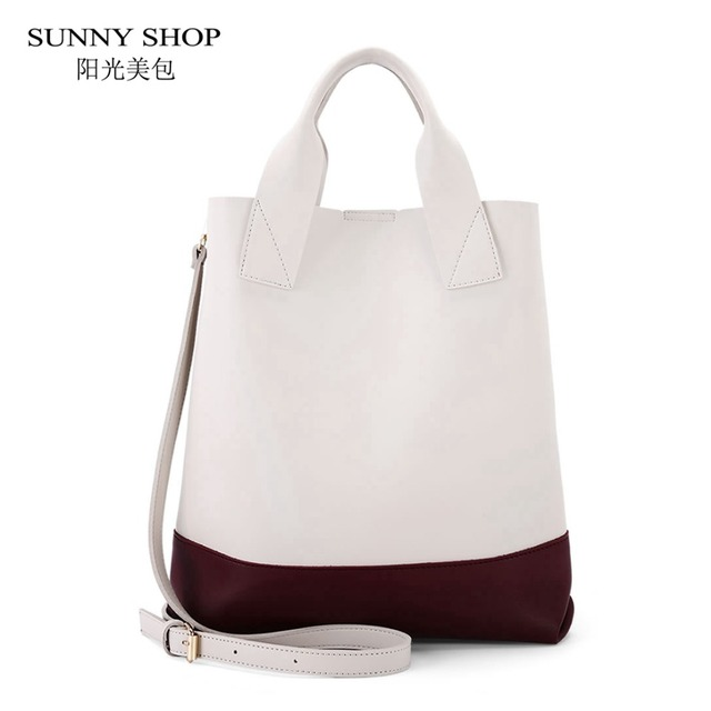 SUNNY SHOP Big Shopper Bag Fresh School Book Tote Bag A4 Available Casual Work Documents File Big Shoulder Bags Shopping Bags