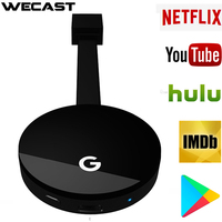 WiFi Display HD TV Screen Mirroring TV Wireless Dongle For Google Chromecast 2 For Netflix YouTube