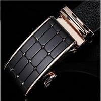Factory Direct Designer Men Belts Luxury Belt Automatic Metal Buckle Genuine Cow Leather Belt Business Cowhide