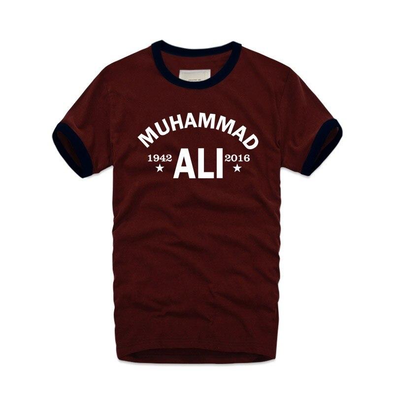 MMA Cassius Kil Muhammed Ali Retro T Gömlek Bağbozumu erkek T-Shirt - Erkek Giyim - Fotoğraf 4