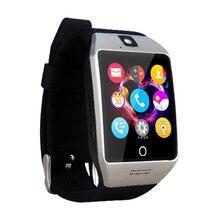 Q18s Mann Uhr Uhren SmartWatch multifonction unterstützung für Android handys Bluetooth Smart dz09 gt08 PK U8