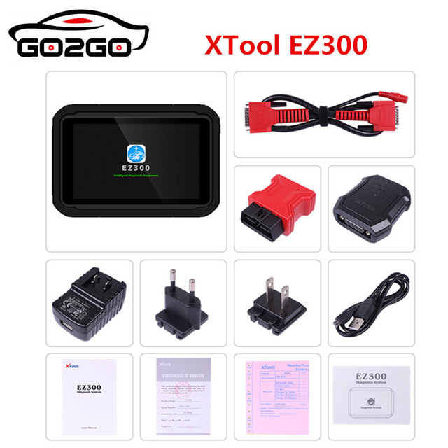 Best Offers Hot Sale XTOOL EZ300 Four System Diagnosis Tool with TPMS and Oil Light Reset Function  Auto ABS/SRS/Transmission Scanner