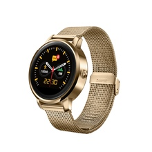 New 2017 Bluetooth Smart Watch IPS HD Display 1.22 Inch  Support Message Push Heart Rate Monitoring For IOS Android Phones