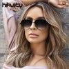 89231 Australia Stylish Oversized Pilot Claw Designer Sunglasses Women 2018 Ladies Shades Gradient Lens Sun Glasses Female 2