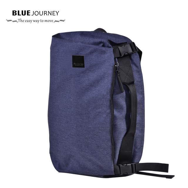 Packback Fashion Men Casual Laptop Backpack Europe  Weekender Travel Bag computer bag  Shouder Crossbody Bags