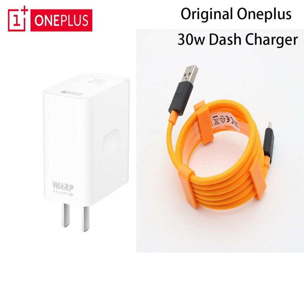 OnePlus Original 7 Pro Urdidura 30 Power Adapter UE EUA Cabo do Carregador de Carga Rápida de Carga 30 W Para OnePlus 7 6 T 6 5 T 5 3 T 3