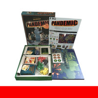 Pandemic Board Game Friend Family Interaction Paper Cards Strategic Reasoning Funny Party Game Children's Gifts