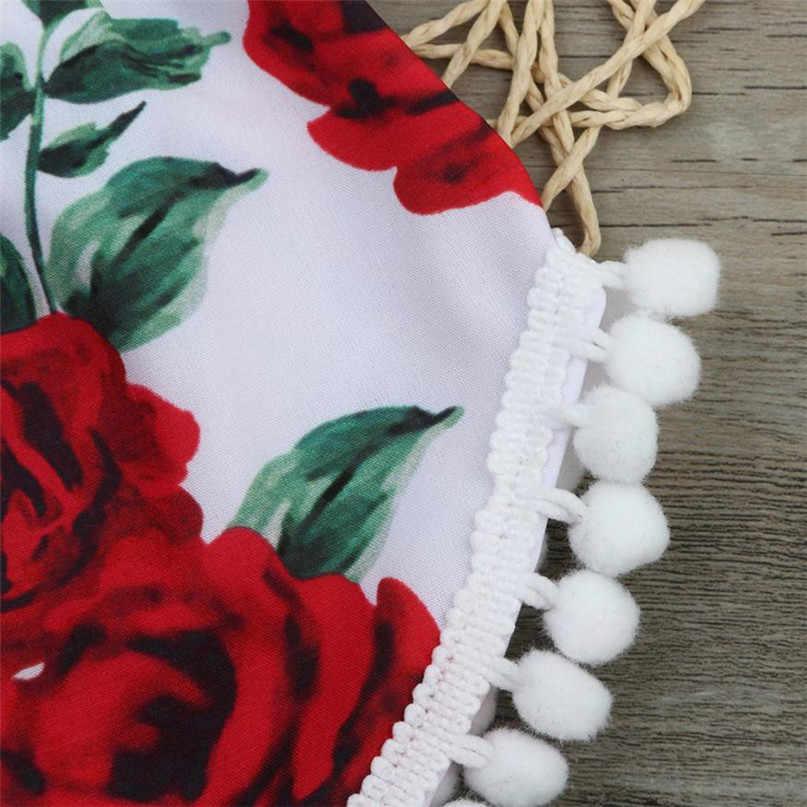 Красный цвет, хит продаж, милый комбинезон с принтом для новорожденных девочек, комбинезон, комбинезон + повязка на голову, комплект одежды, доставка ST05