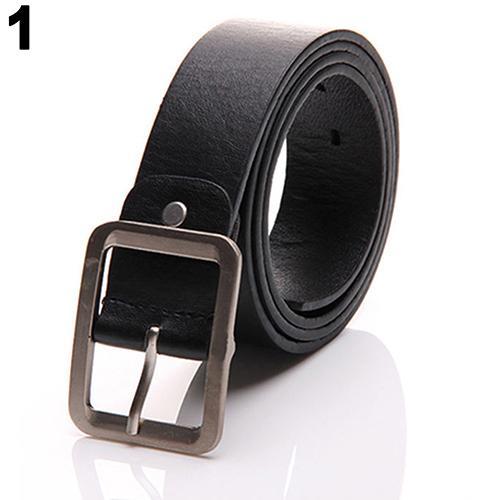 Solid Color Designer Belts For Men Leather Buckle Waist Strap Business Casual Belt Automatic Buckle Luxury Waist Belt