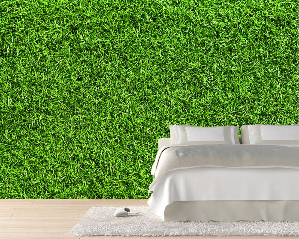 Modern photo wallpaper, Grass texture, natural landscape Mural for living room bedroom sofa background wall PVC papel de parede 3d photo wallpaper 3d large mural tv sofa background wall bedroom living room photography wood nature landscape wallpaper mural