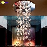 Glass Bubbles Ceiling Lamp Modern Lustres de Sala Muranodue Ether Design Chandelier Ceiling Lamp Lovely Bubble Ceiling Lamp
