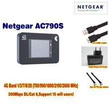 Entsperrt Netgear Aircard 790 s (AC790S) 300 Mbps 4G Mobile Hotspot wifi Router Plus Ein paar antenne