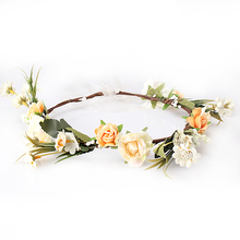 Women Flower Crown Hair Band