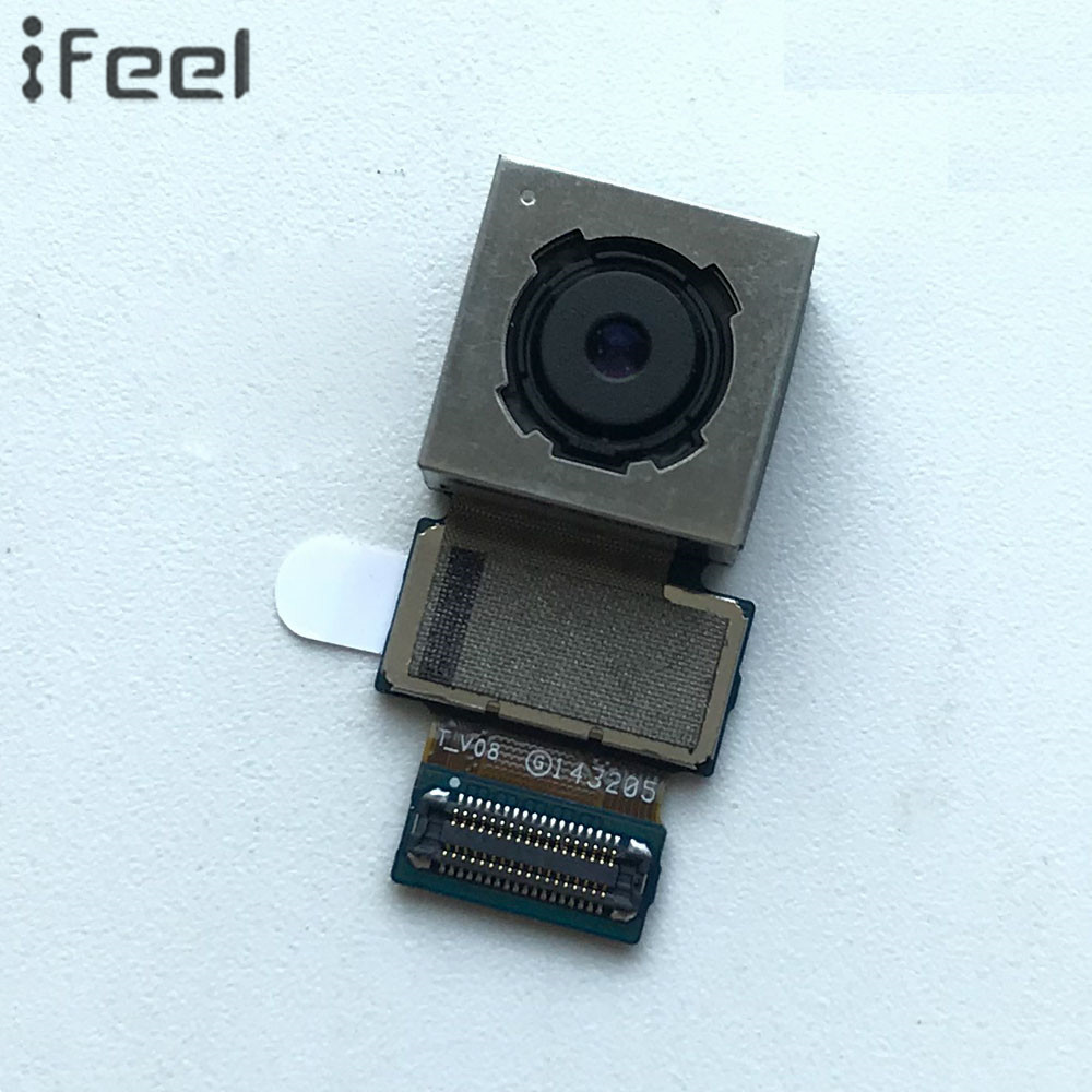 IFEEL Flex Cable Part For Samsung Galaxy Note 4 N910 N910C N910H N910T Big Back Rear Main Camera Module Lens With Free Shipping