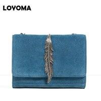 2016 Women Messenger Bags Famous Brands Designer Leaves Vintage Envelope Clutch Bag High Quality Crossbody Bags