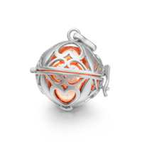 Mexican Bola Pregnancy Chime Baby Nice Sound Bell Angel Caller Locket Harmony Bola Pendent Locket Cage Chain Necklace