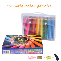 120 Pastel Pencils Soft Watercolor Pencils Wood Coloured Pencils Set For Drawing Painting Sketch Art Supplies gifts for kids