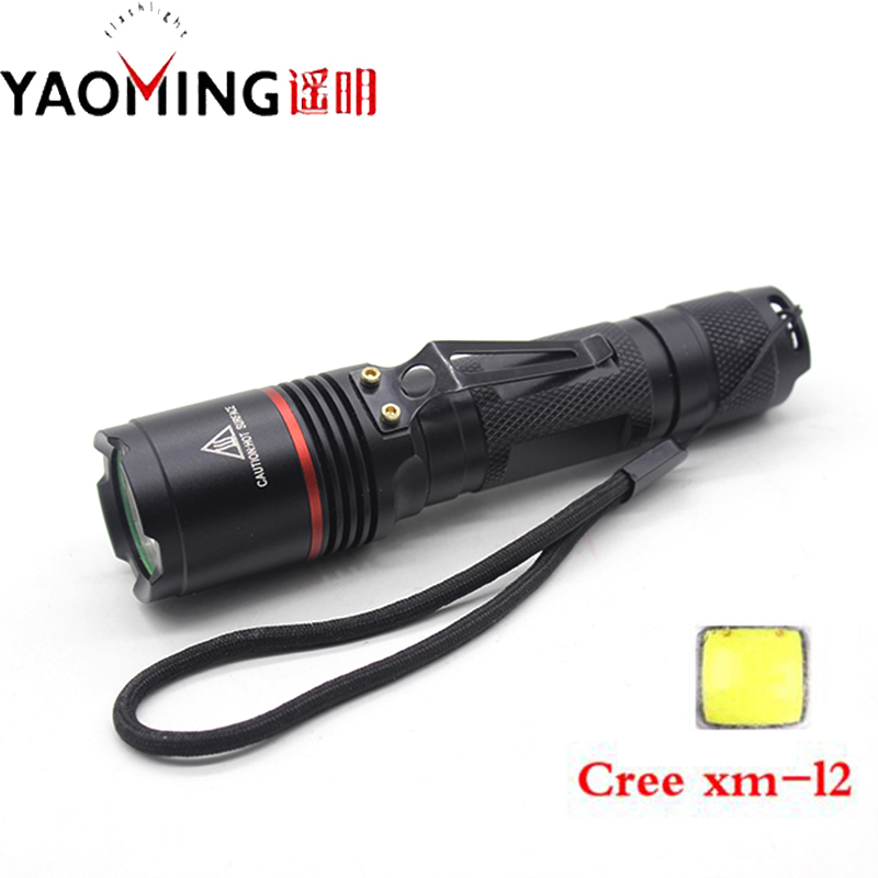 Cree XM-L2 U2 High Power Lantern Tactical Cree Flashlight Powerful Waterproof Linternas 3800lm by 18650 Led Flashlights Lamp