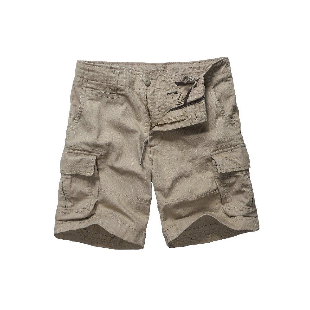 Mens Armee Stil Arbeit Handel Langlebige Cargo-Shorts Casual Multi-taschen Shorts-Schwarz, Navy, armee Grün und Khaki