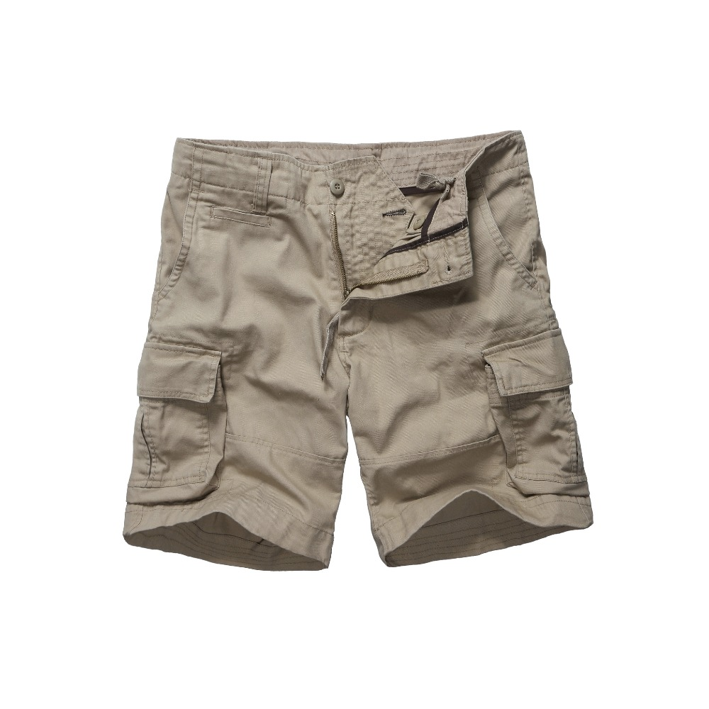Mens Army Style Work Trade Durable Cargo Shorts Casual Multi-pockets Shorts -Black, Navy, Army Green And Khaki