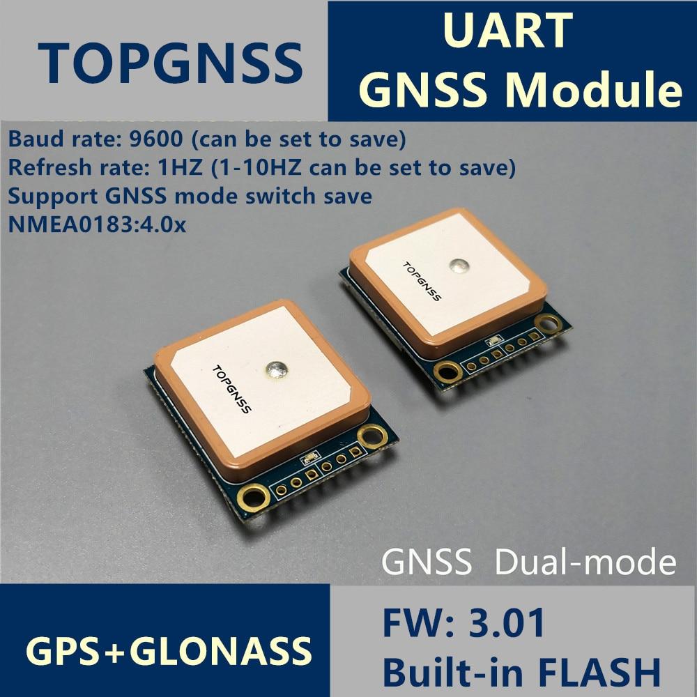 UART GPS GLONASS Soutien GALIEO double mode M8n GNSS Module Antenne