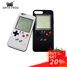 Data Frog Nostalgia Tetris Game Consoles Mini Handheld Game