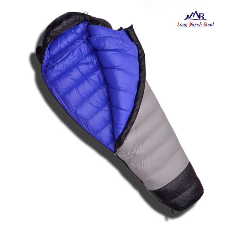 Image 2 - LMR Ultralight 400G/600G/800G White Goose Down Filling Waterproof  Comfortable Camping Sleeping Bag Slaapzak Lazy Bagcamping sleeping  bagdown sleeping bagsleeping bag