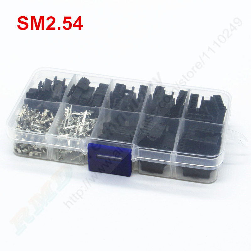 XH2.54 2P//3P//4P//5P//6P//7//8P Female Housing Connector Plug Male Crimping