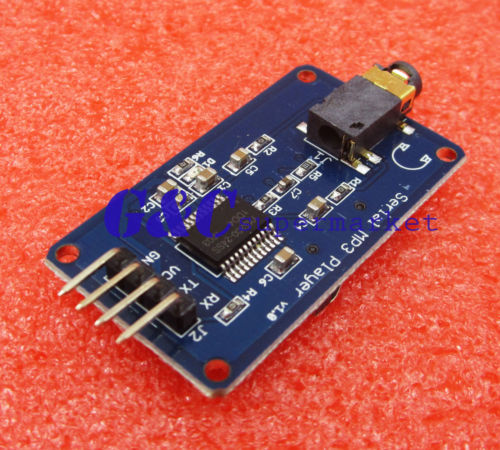 YX5300 UART Control Serial MP3 Music Player Module AVR/ARM/PIC