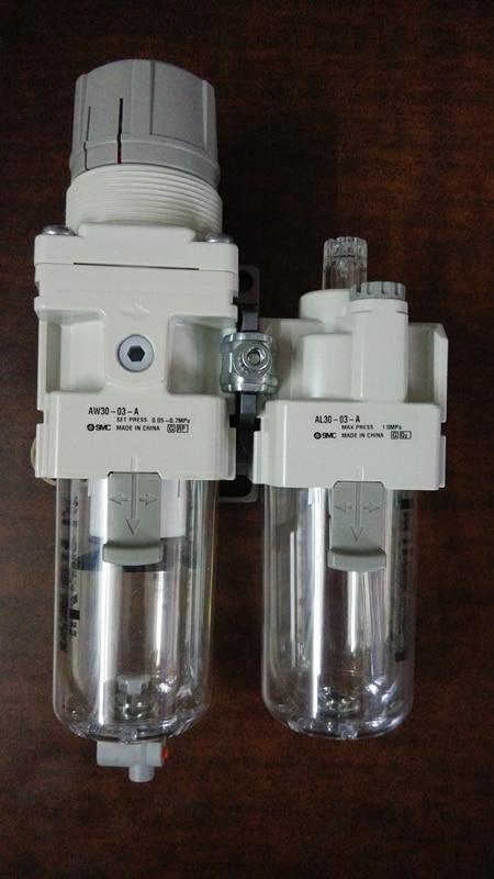 SMC AC30A-03G-A  AIR PNEUMATIC REGULATOR / FILTER ASSEMBLY, AW30-03-A, AL30-03-A it8712f a hxs