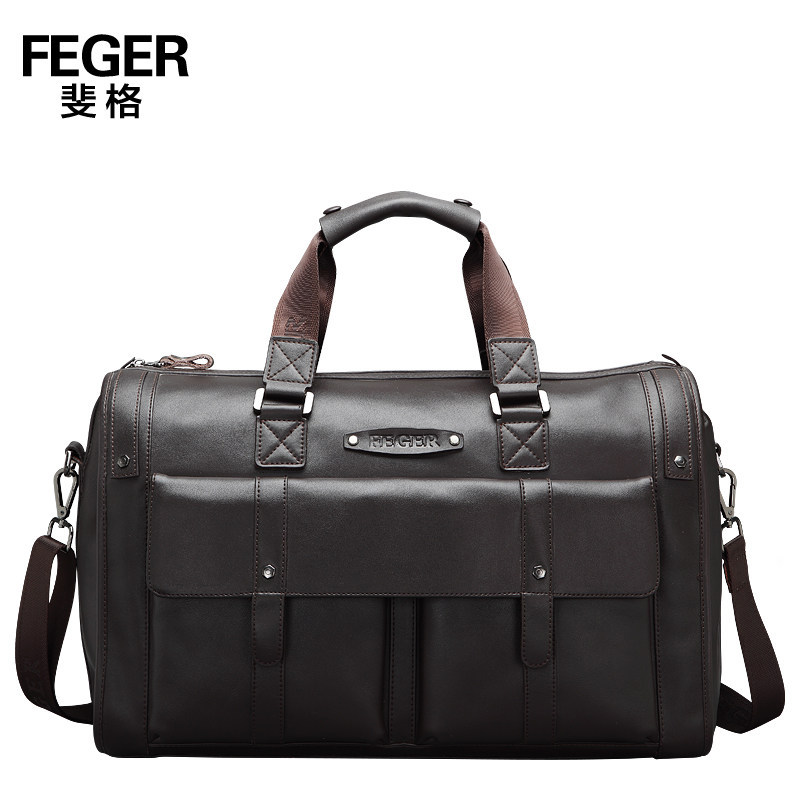 Durable Thicken Cow Leather Big Men Handbags Fashion Genuine Leather Men's Travel Bags Dress Travel Duffle for gentlemen italians gentlemen пиджак