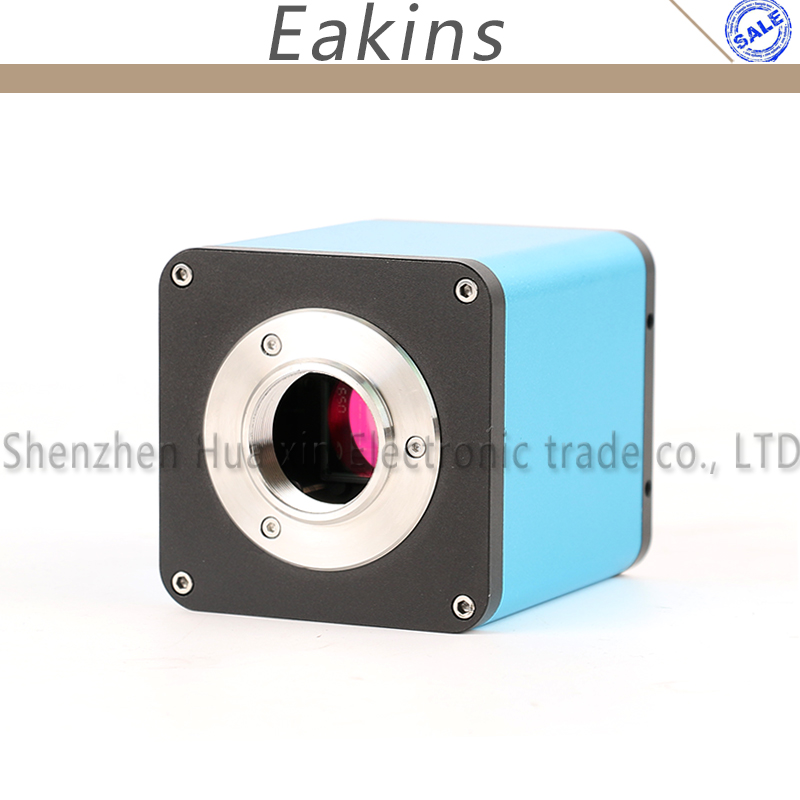 Messa a fuoco automatica FULL HD 1080 p 60FPS SONY SENSORE IMX290 HDMI TF Video Settore Auto Messa A Fuoco del Microscopio Della Macchina Fotografica C-Mount per PCB SMT Riparazione