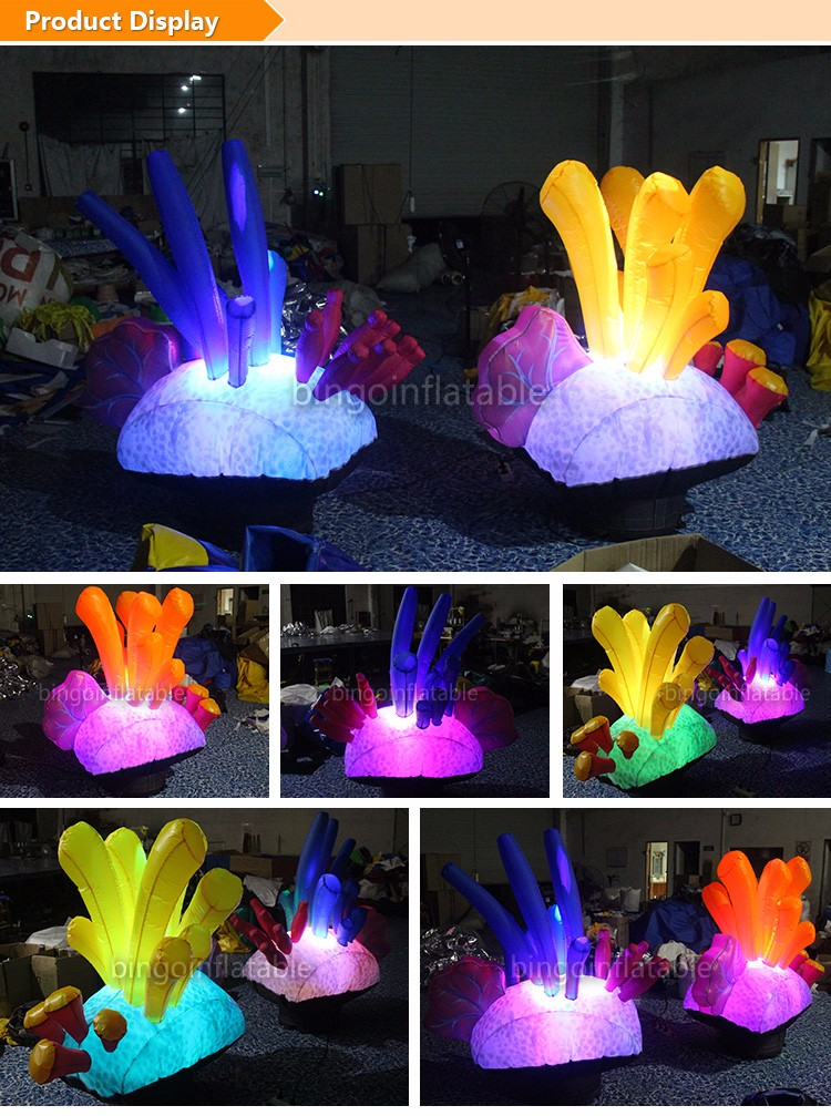 party Inflatable Seaweed For Decoration With LED Lighting inflatable led seaweeds