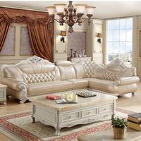 Прямые продажи мебель для гостиной, кожа L форма диван комплект мебель цены Китай диван muebles де Сала copridivano