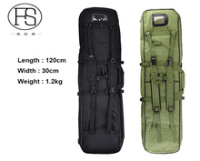 120cm Tactical Outdoor Hunting Backpack Military Hunting Rifle Backpack Sports Bag Fishing Hiking Camping Men Nylon Shoulder Bag
