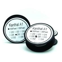 Канталь Калибра 28 100 ФУТОВ 0.32 мм AWG провод Нихром Сопротивление Резистора