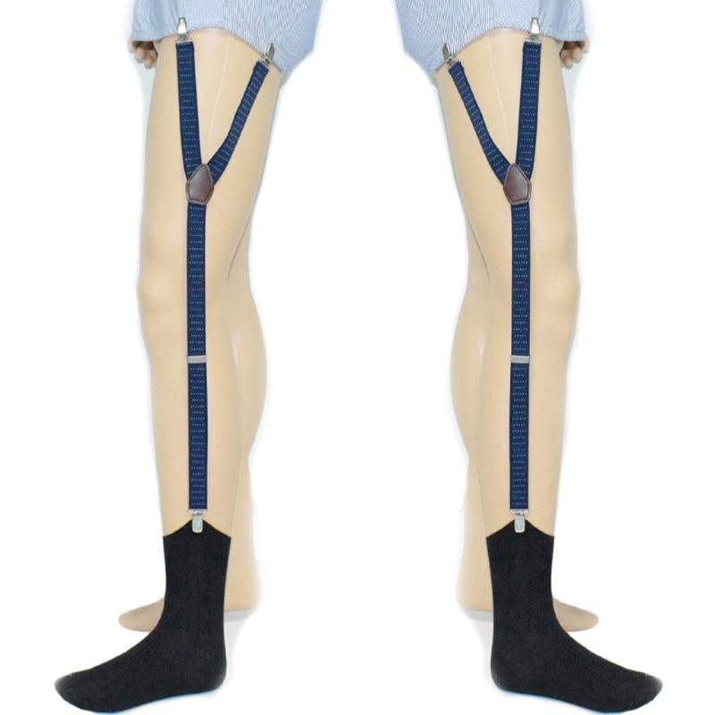New Arrival Mens Shirt Stays Holder Suspender Adjustable Elastic Garter Strap Sock Non-Slip Underwear Accessory 2018 Fashion Hot