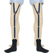 Nova chegada mens camisa permanece titular suspender ajustável cinta liga  elástica meia não-slip underwear acessório 2018 moda q. 103bd6a721aec